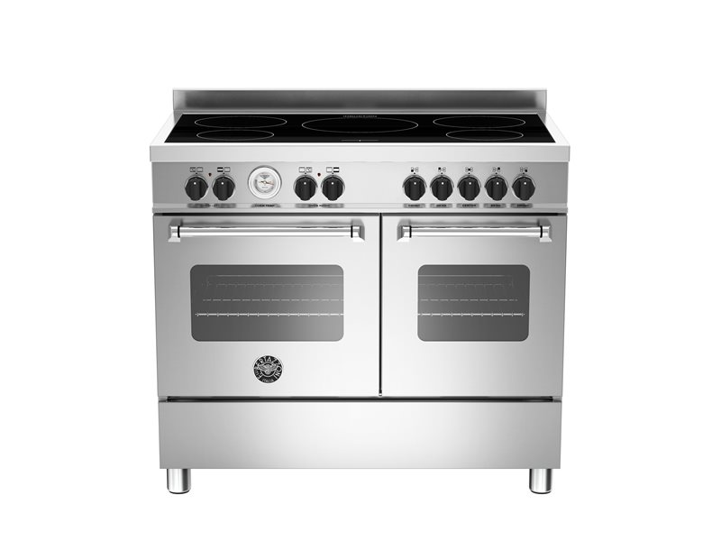 100 cm induction top electric double oven | Bertazzoni - Stainless Steel