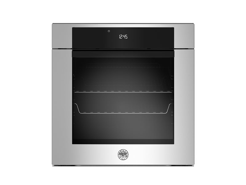 60cm Electric Built-in oven LCD display | Bertazzoni - Stainless Steel