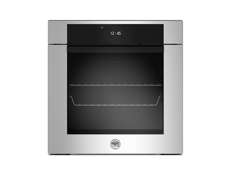 60 cm Electric Pyro Built-in Oven, TFT display, total steam | Bertazzoni - Stainless Steel