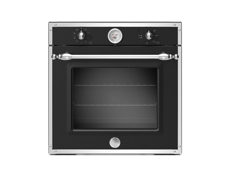 60cm Electric Built-in Oven 9 functions with thermometer | Bertazzoni - Matt Black