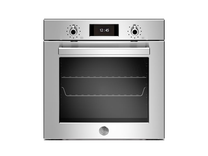 60cm Electric Pyro Built-in Oven, TFT display | Bertazzoni - Stainless Steel
