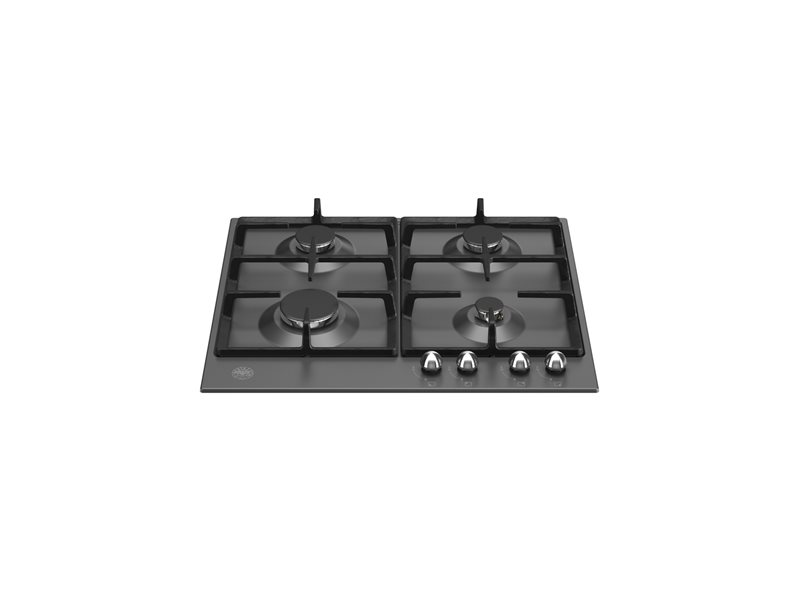 60 cm Gas hob | Bertazzoni - Matt Black