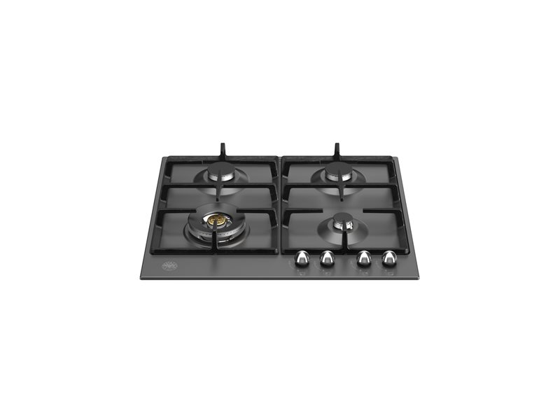 60 cm Gas hob with wok | Bertazzoni - Matt Black