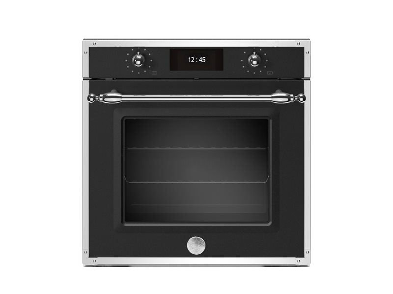 60cm Electric Pyro Built-in Oven, TFT display, total steam | Bertazzoni - Nero Matt