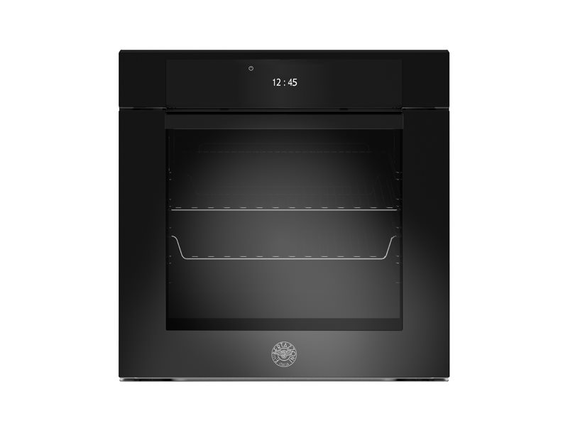 60cm Electric Pyro Built-in oven LCD display | Bertazzoni - Nero