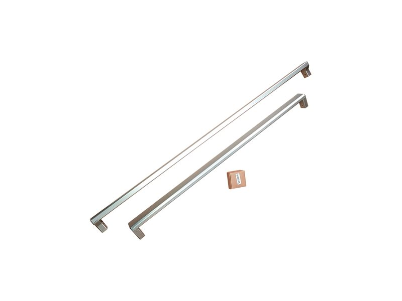 Professional Series Built-in Style Handle Kit for 90 cm French Door refrigerators | Bertazzoni - Stainless Steel