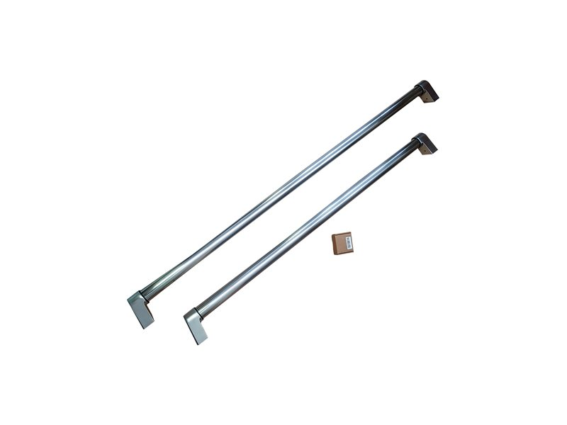 Master Series Cooker Style Handle Kit for 90 cm French Door Refrigerators | Bertazzoni - Stainless Steel