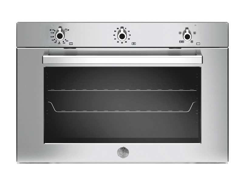 90cm Gas Convection Oven, Gas Grill | Bertazzoni - Stainless Steel