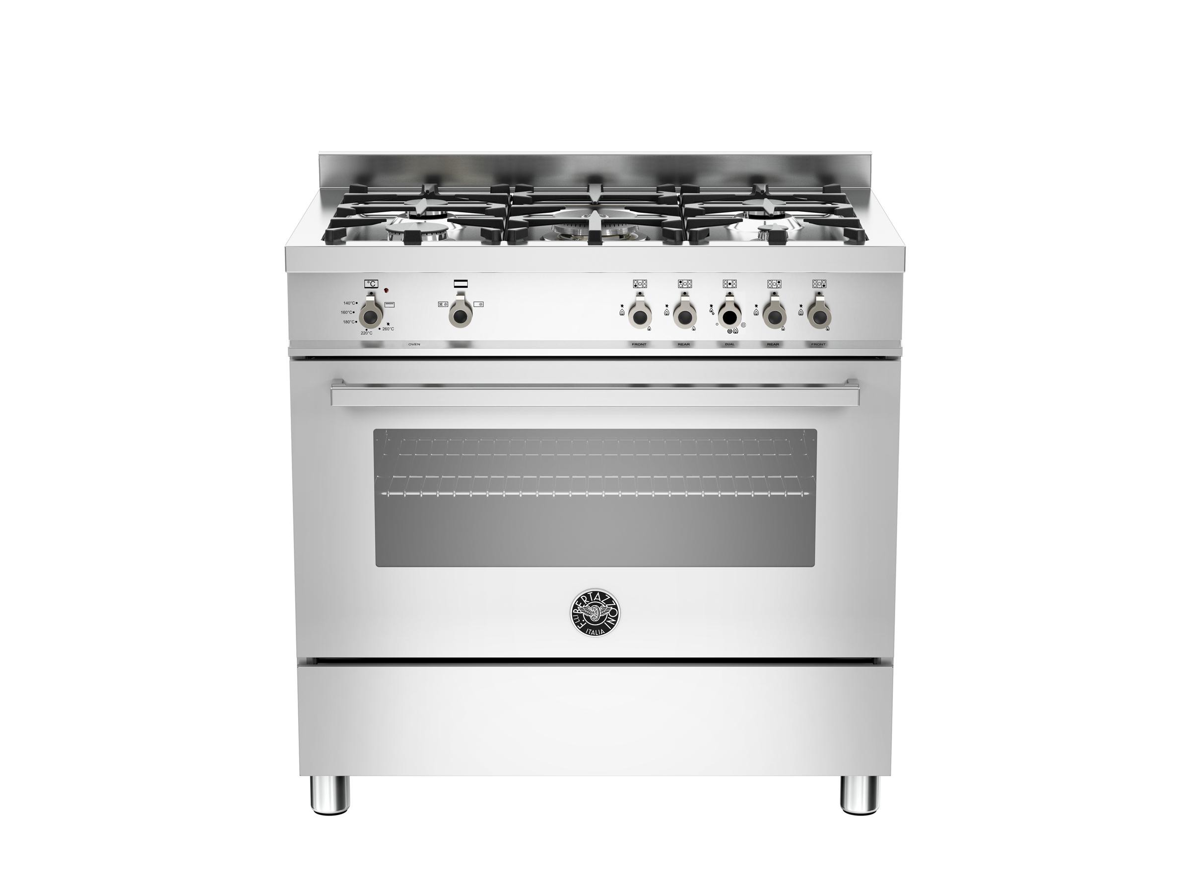 90 cm 5-burner gas oven   Bertazzoni