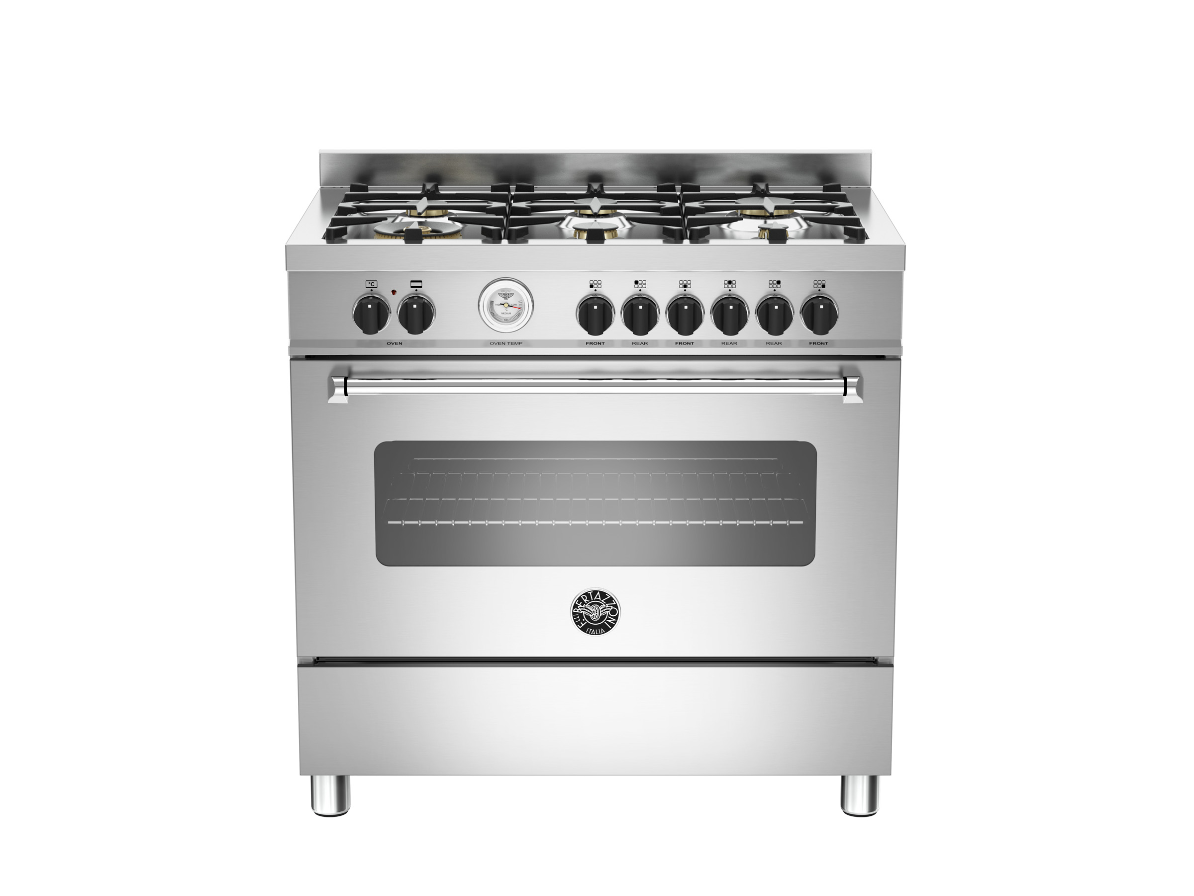 - 90 Cm 6-burner Electric Oven Bertazzoni
